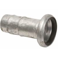 """Bauer 6"""" - S78 HUN med slangestuss  (uten O-ring) galvanisert"""